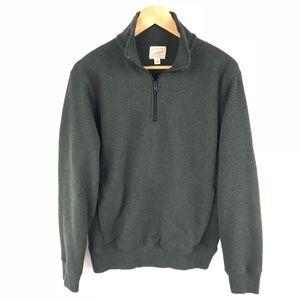 J Crew Mens Summit Fleece Half Zip Pullover